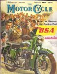 THE MOTORCYCLE - 12 NOV 1953 - LONDON SHOW GUIDE - M2386